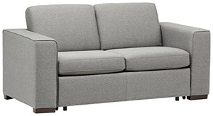 "Rivet Elliot Easy-Pull Modern Sofa Bed, 71""W, Grey"