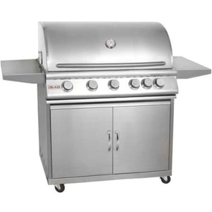 "Blaze 40"" 5-Burner Grill and Cart Package with Rear Burner - NG"