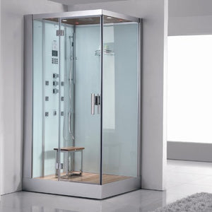 Ariel Platinum DZ959F8-W-L White Steam Shower