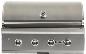 Coyote C-series 36-inch 4-burner Built-in Natural Gas Grill - C1c36ng