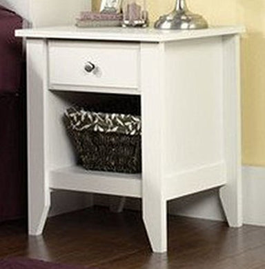 Sauder Shoal Creek Night Stand, White