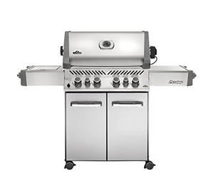 Napoleon Grills Prestige 500 Propane Gas Grill, Stainless Steel