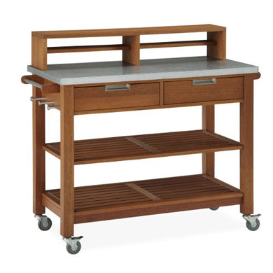 Home Styles Bali Hai Potting Bench, Shorea Wood
