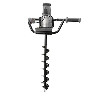 Hiltex 10525 Electric Earth Auger with 4 Inch Bit | 1,200W and 1.6HP Powerhead