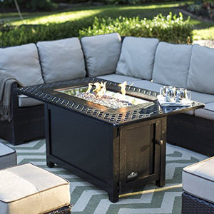 Napoleon Victorian Rectangle Patioflame Gas Fire Pit Table