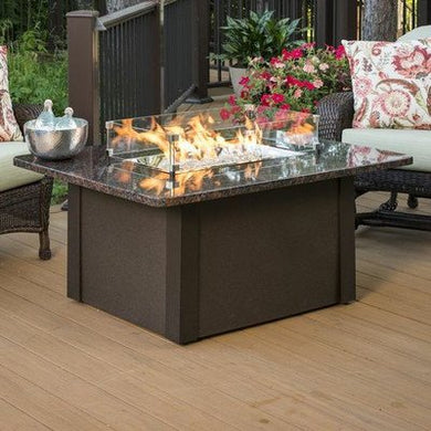 Outdoor Great Room GS-1224-BRN-K Grandstone Fire Pit Napa Valley, Brown