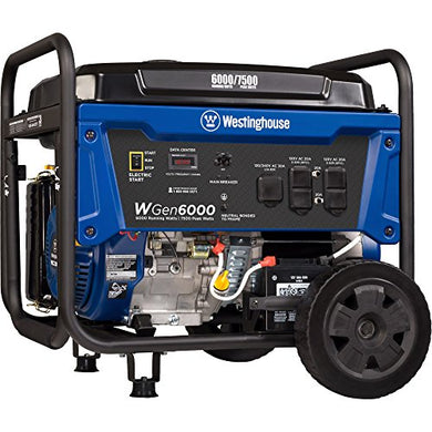 Westinghouse WGen6000 Electric Start Portable Generator