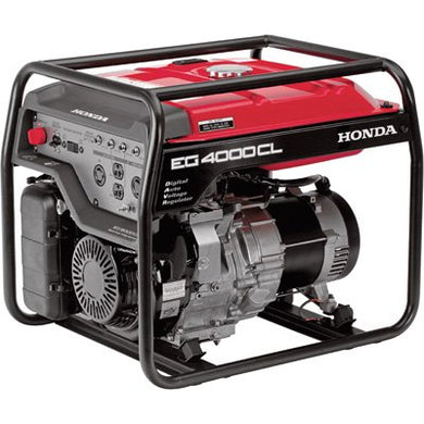 Honda 4,000 Watt Electronic Start Gas Powered Home RV Portable Generator EG4000