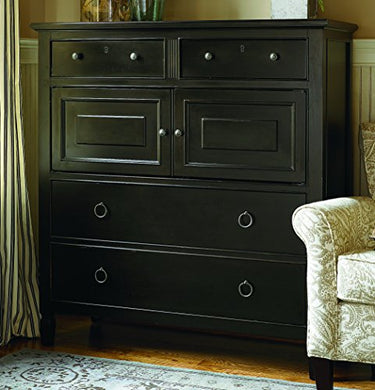 Universal Furniture 988175 Summer Hill Collection Dressing Chest, Midnight, 19