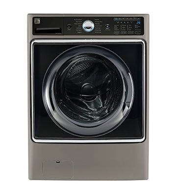 Kenmore Smart 41983 5.2 cu.ft. Front Load Washer with Accela Wash Technology in Metallic Silver - Compatible with Amazon Alexa, includes delivery and hookup (Available in select cities only)