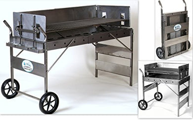 Rocky Mountain Cookware - BBQ Grill, Charcoal Type,