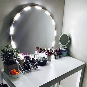 PENSON Lighted Mirror LED Light for Cosmetic Makeup Vanity Mirror Kit, 20 LED Lights