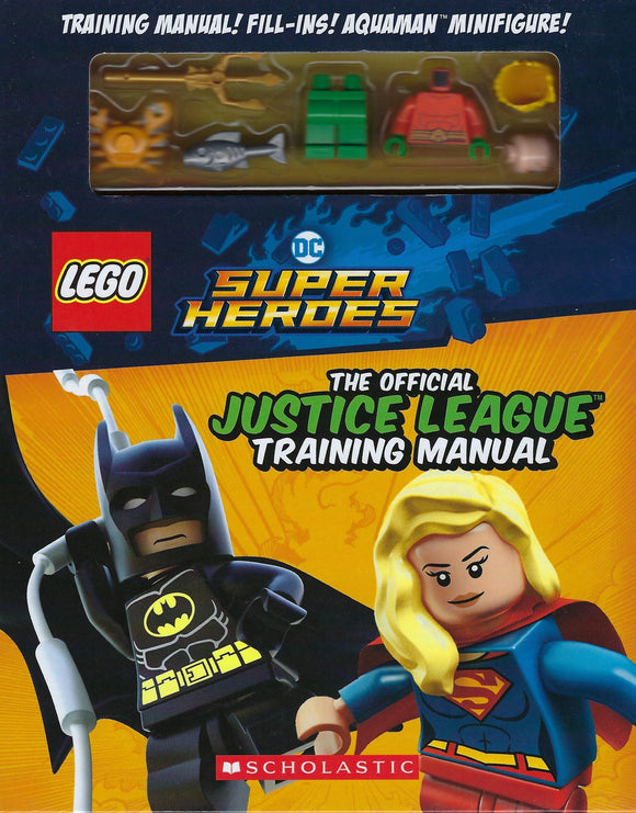 Lego -The Official Justice League Training Manual