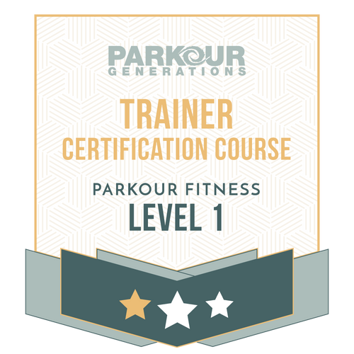 Parkour Fitness Level 1 Trainer Award Course