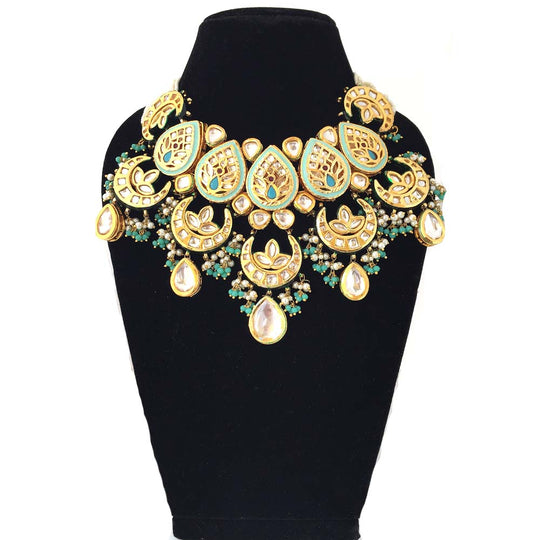 Made to Order - MO3 | Fancy Kundan and Meenakari Necklace