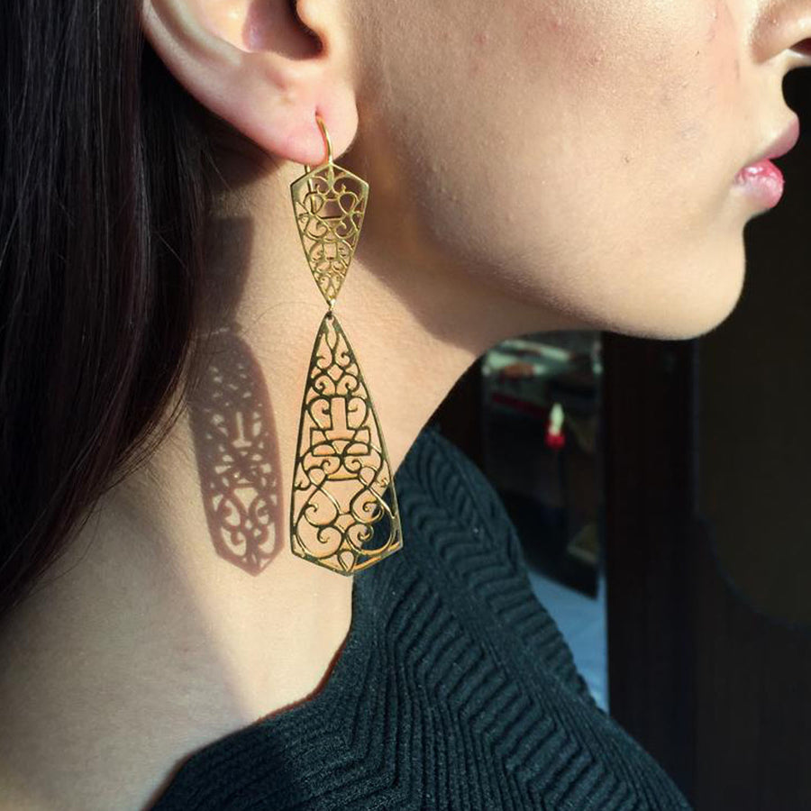 Paisley Di' Earrings - Adrisya