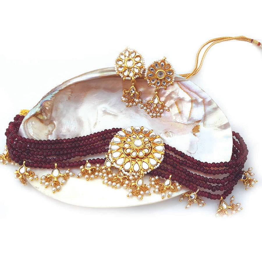 Ethnic Kundan Necklace