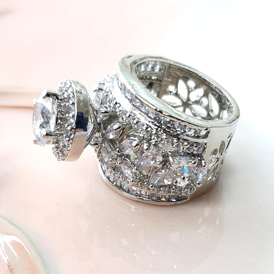 Lavish Cocktail Ring - Adrisya