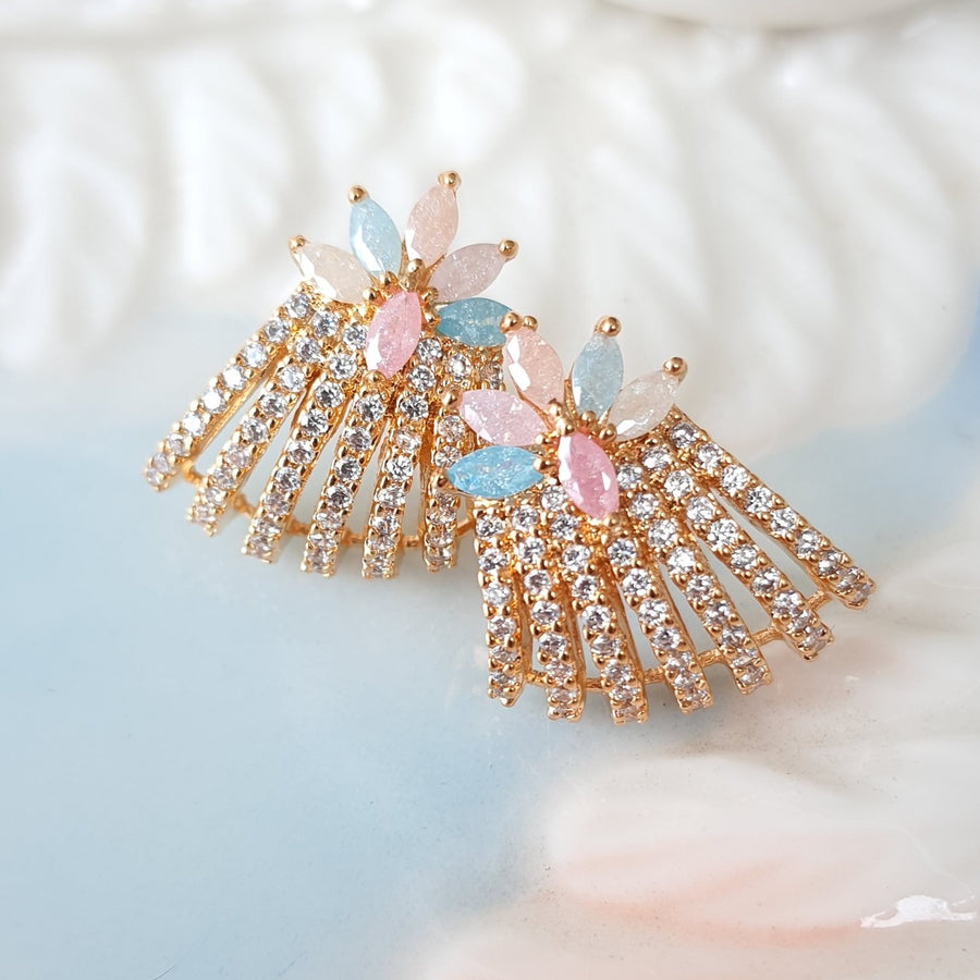 Pastel Stud Earrings - Adrisya