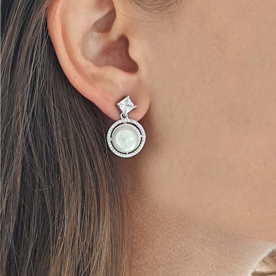 Wired Coin Earrings - Adrisya ,Earrings - Fashion Jeweley, Adrisya - Shabnam Bhojwani, Adrisya - Adrisya ,