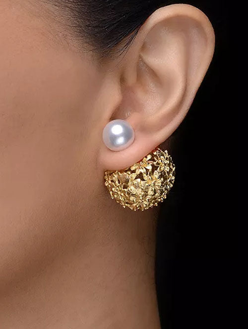 FLora Double Sided Earring