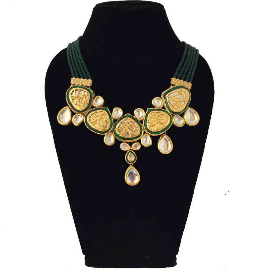 Kundan Meenakari Necklace