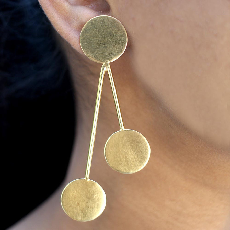Kandisky Inspired Earrings - Adrisya
