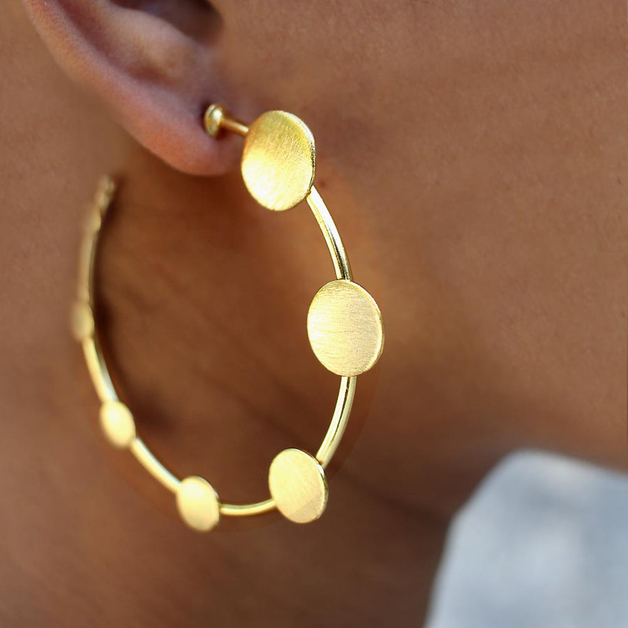 De Moda Hoop Earrings
