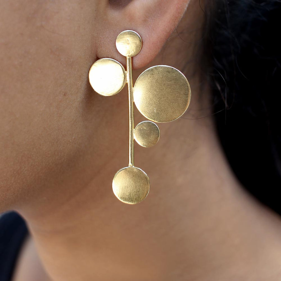 Wassily Kandisky Inspired Earrings