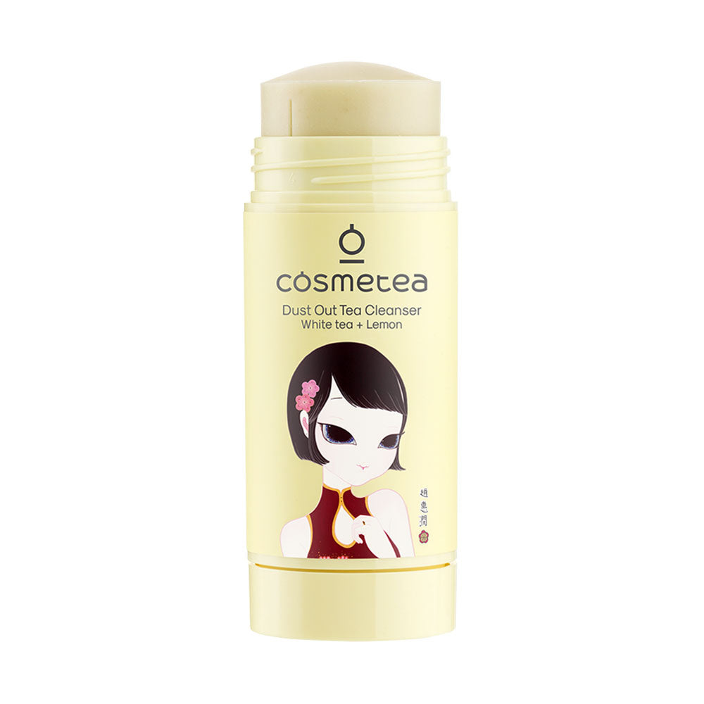 Cosmetea Dust Out Tea Cleanser White Tea + Lemon
