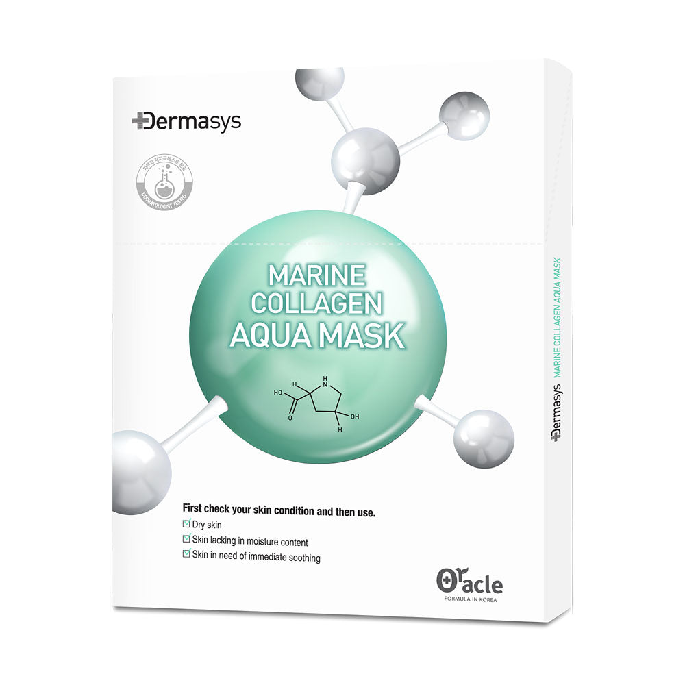 Dr Oracle Dermasys Marine Collagen Aqua Mask Set - 5ea