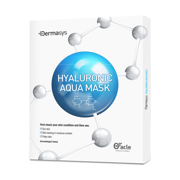 Dr Oracle Dermasys Hyaluronic Aqua Mask Set - 5ea