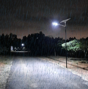 HOW LONG SOLAR STREET LIGHTS WORK IN RAINY DAYS