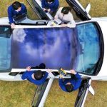 South Korean auto giants disclose solar roof charging technology for cars