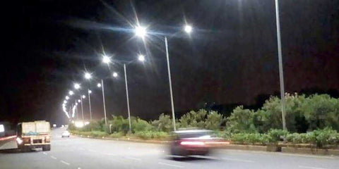 Why don't we use solar LED street lights in India