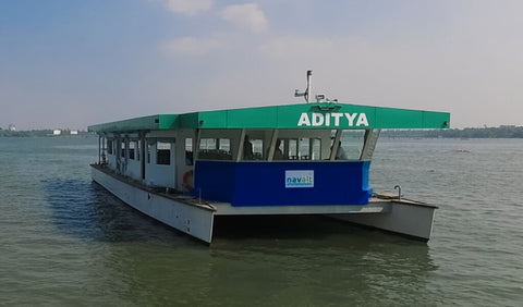 INDIAS FIRST SOLAR FERRY