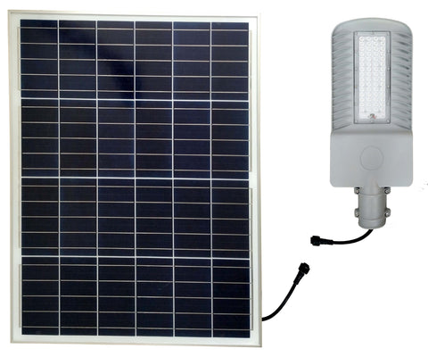 What do you mean by integrated solar street lights