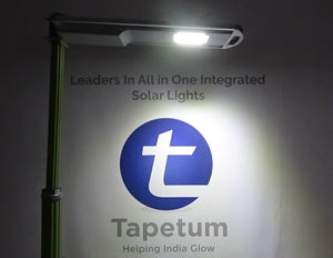 Solar Street Light - All in One Integrated Light - 20 Watt - 2 Night Back Up - Solar Garden Light