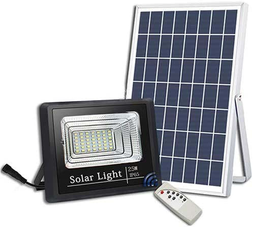 Solar Flood Light - 12 Watt With Remote - TTSFL12W