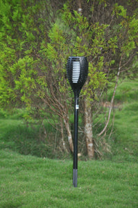 Solar Garden Fire Burn LED Light - TTSGFBL05W