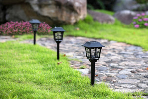 Solar European Pathway Light- TTSEMPL2W (Pack of 10)