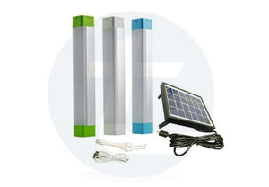 Solar Emergency Tube Light 5 Watt - White - TTSELTL5W (Pack of 10) - tapetum.in