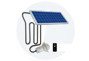 Solar Home Light 5 Watt - White - TTSHL5W - tapetum.in