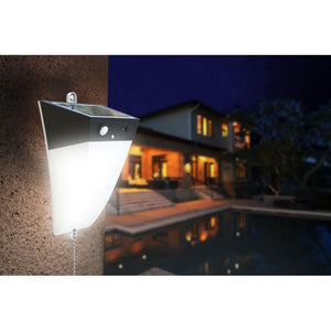 Solar Motion Wall Light - White LED Light - TTSMW5W