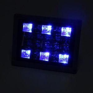Solar Garden Fancy Flood Light White - TTSGFFL10W -color-lights-blue