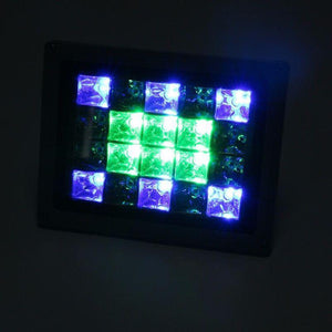 Solar Garden Fancy Flood Light White - TTSGFFL10W -color-lights-blue-white