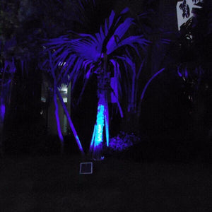Solar Garden Fancy Flood Light White - TTSGFFL10W -light-in-garden