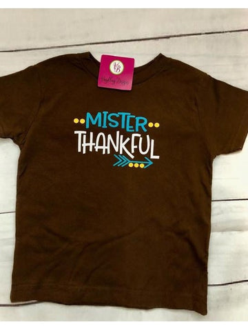 """Mister Thankful"" T-Shirt"