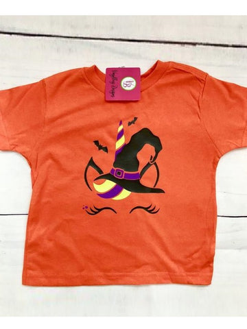 Unicorn Witch Halloween T-Shirt