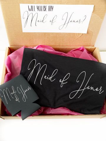 Maid of honor proposal gift set | Maid of honor gift